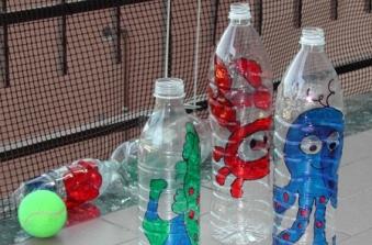 Bricolage Con Bottiglie Di Plastica.Birilli Fai Da Te Eco Idee