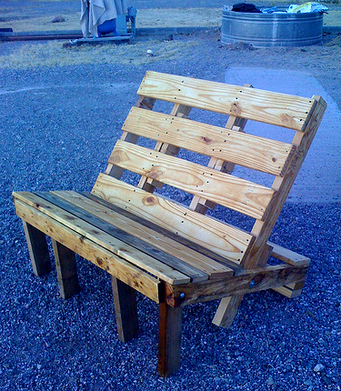 Come Costruirsi Una Panchina Con I Pallet Eco Idee