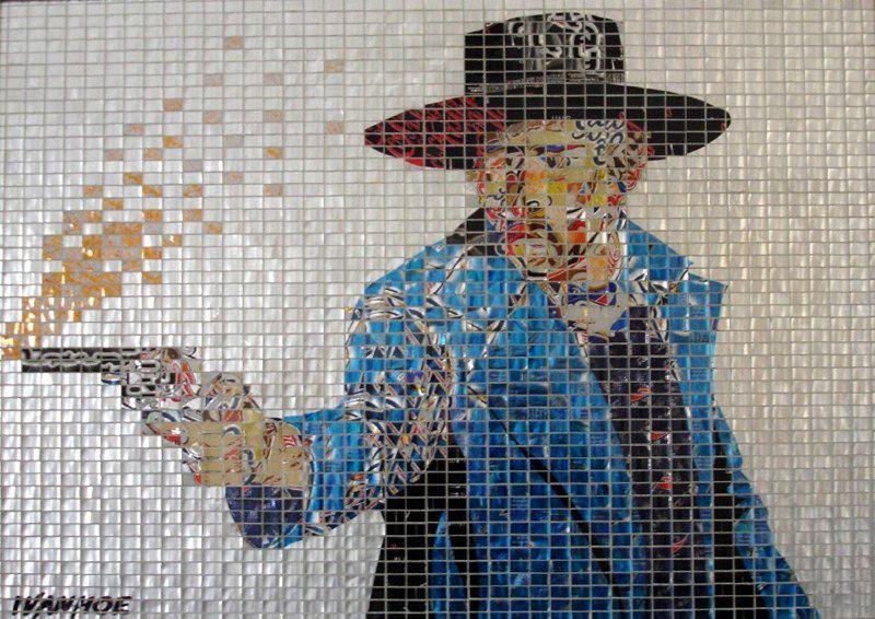 Estremamente I mosaici con le lattine: AluMosaics! OX07
