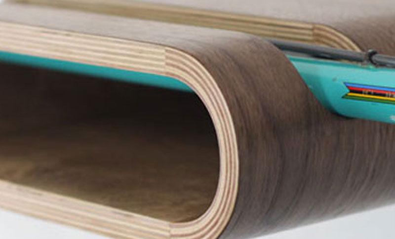 Portabiciclette con bancale in legno - Portabici in legno ...